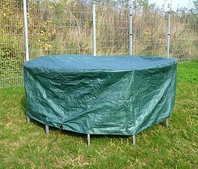 Royal Gardineer Gartenmöbel-Abdeckung für runde Gartentische von Royal Gardineer - Gartenmöbel von Du und Dein Garten