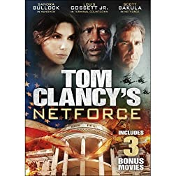 Tom Clancy's Netforce - Plus 3 Bonus Movies!