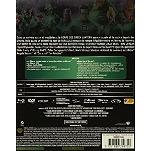 Green Lantern - Combo Blu-Ray + DVD - Steelbook format Blu-Ray - Collection DC COMICS [Blu-ray] [Com