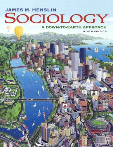 Sociology  A Down-to-Earth Approach  with MySocLab with E-Book Student    Introduction Sociology Textbook