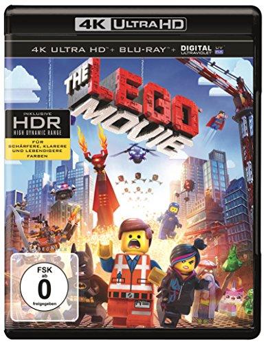 Warner Brothers The Lego Movie  (4K Ultra HD) [Blu-ray]
