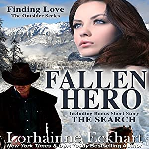 Fallen Hero (The Outsider Series, Book 2) Audiobook