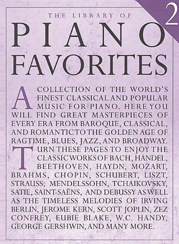 Library of Piano Favorites - Volume 2