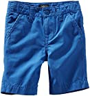 OshKosh B'gosh Little Boys' Canvas Woven Shorts (Toddler/Kids) - Octopus Blue - 2T