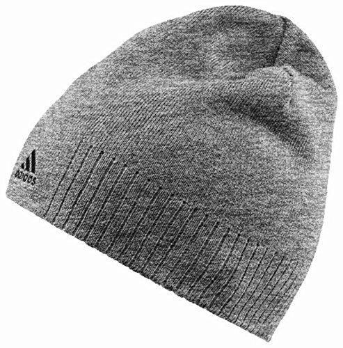 (アディダス)adidas ESS コーポレートロゴニット帽 DP120 W57350 ミディアムグレイヘザー/ミディアムグレイヘザー OSFZ