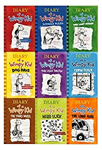 Diary of a Wimpy Kid Childrens Collection Jeff Kinney 1-9 Books Set PB NEW