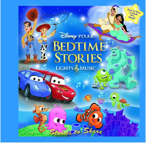 Title: Disney Pixar Bedtime Stories Lights n Music Treasu