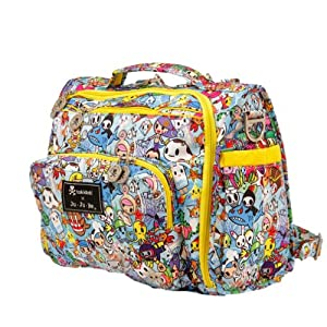 Ju-Ju-Be B.F.F. Tote/Backpack Style Diaper Bag - Tokidoki Sea Amo - Multi by Ju-Ju-Be