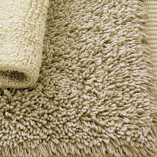 Sandy Shades Cotton Bath Rug - Shaggy