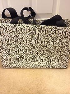 Kate Spade Letter Scramble Bone/Black Diaper Baby Bag from Kate Spade