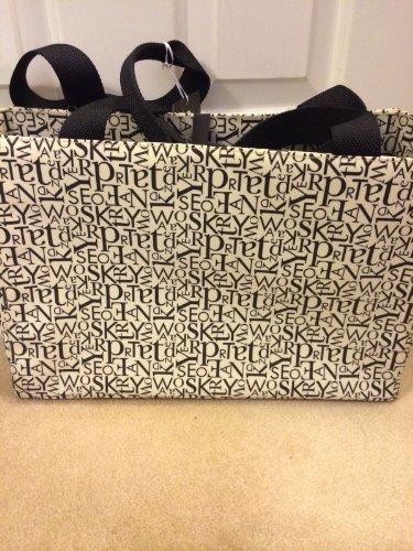 Kate Spade Letter Scramble Bone/Black Diaper Baby Bag front-479809