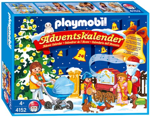 playmobil 4152 adventskalender weihnachten im park mit. Black Bedroom Furniture Sets. Home Design Ideas