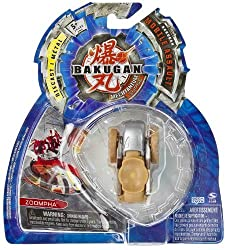 Zoompha Subterra - Brown - Bakugan Mechtanium Surge Mobile Assault - NOT Randoml