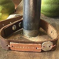 Medical Alert ID Bracelet - Leather