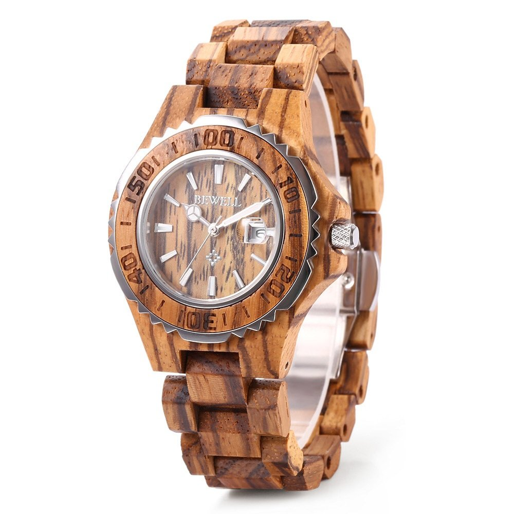 Handmade Wooden Quartz Watch
