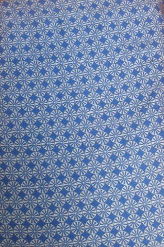 giggleBABY Jungle Soup Collection Crib Fitted Sheet Blue Pinwheel - 1