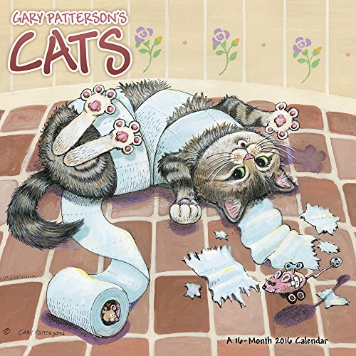 Gary Patterson's Cats Wall Calendar (2016)