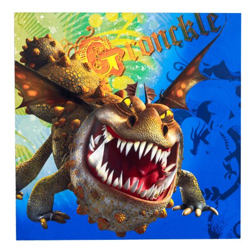 How to Train Your Dragon Lunch Napkins (16 Count)