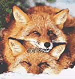 FOXY FRIENDS Animal Fox Cross Stitch Chart