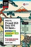 FREETEL Prepaid SIM for JAPAN (2GB Data SIM (micro))