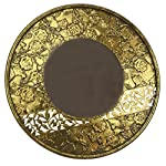 NOVICA Wood wall mirror, Festive Holi