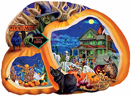 SunsOut Enter If You Dare Shaped Jigsaw Puzzle (1000-Piece)