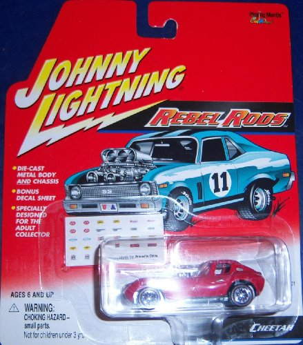Johnny Lightning Rebel Rods Cheetah - 1