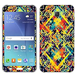 Theskinmantra Coloured cubes SKIN for Samsung Galaxy J7
