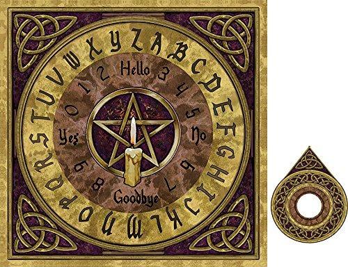 Decorative Wooden Pentagram Spirit Board by Haysom Interiors by Haysom Interiors