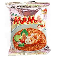Mama Instant Noodles - Tom Yum Shrimps, 60g Pack