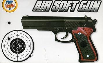 Pistola finta arma giocattolo con colpi