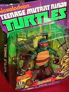 Teenage Mutant Ninja Turtles Battle Shell Raphael Action Figure