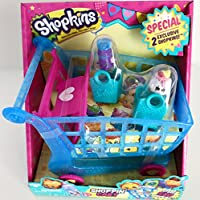 NEW Shopkins Shopping Shoppin Cart XL 2 Exclusive Season 3 Push N Play Holds 60 Shopkins