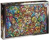 1000ピース ジグソーパズル ディズニー ステンドアート オールスター ステンドグラス(51.2x73.7cm) ランキングお取り寄せ