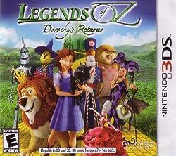 Legends of Oz: Dorothys Return 3DS - Nintendo 3DS