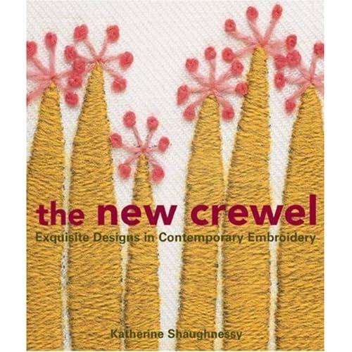 The new crewel exquisite designs in contemporary