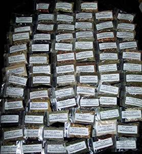 Wicca or Hoodoo Herb Spell Kit - 92 Witchcraft Herbs + Magickal Herbs eBook