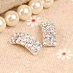 Vktech 50Pcs Charming Diamante Rhines...