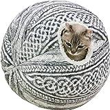 キャティーマン (CattyMan) 手編みニット風毛糸だまベッド