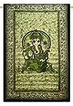 Art Seigneur Ganesha coton mur indien...