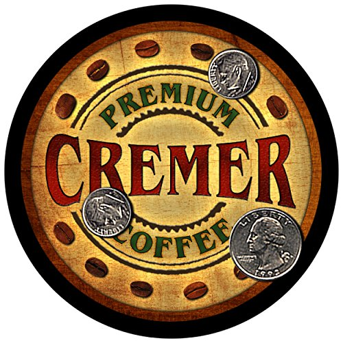 Cremer Family Coffee Rubber Drink Coasters - Set of 4 (Coffee Cremer Set compare prices)