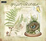 Lang Perfect Timing - Lang 2014 Winglet's Sketchbook Wall Calendar, January 2014 - December 2014, 13.375 x 24 Inches (1001726)