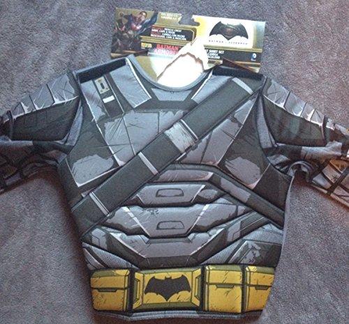 Batman Armored Muscle Costume Shirt Child Size 4-6 Halloween Dress Up (80s Dress Up Ideas For Men)