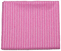 Shree Balaji Textiles Men's Shirt Fabric (Pink )