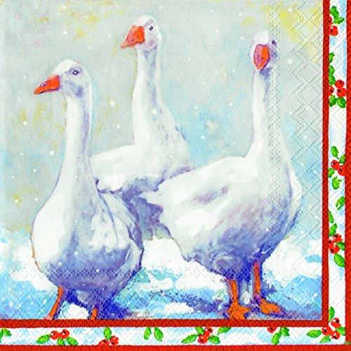 gansos-de-navidad-ganso-fajardo-y-servilletas-de-papel-20-en-un-paquete-33-cm-cuadrado