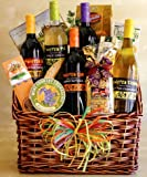 61Tx8spRPuL. SL160  Twisted Wine Gift Basket