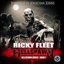 Hellspawn Audiobook by Ricky Fleet Narrated by Jonathan Johns