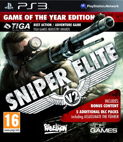 Sniper Elite V2 GOTY Xbox Ps3 Ps4 Pc jtag rgh dvd iso Xbox360 Wii Nintendo Mac Linux