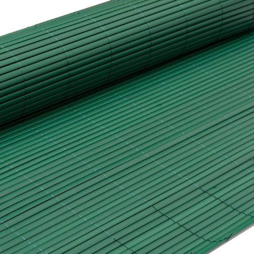 pvc sichtschutzmatte 160x300cm gr n windschutz sichtschutz. Black Bedroom Furniture Sets. Home Design Ideas