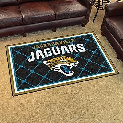 "Jacksonville Jaguars Rug 4x6 46""x72"" - FAN-6583"